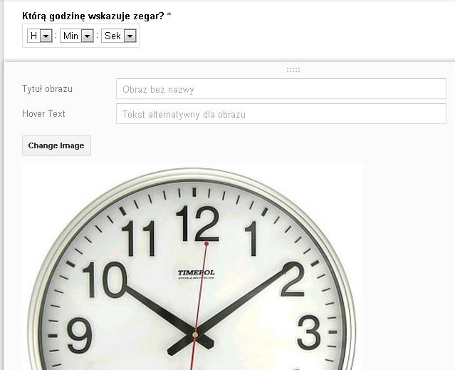 zdjęcia w formularzach google