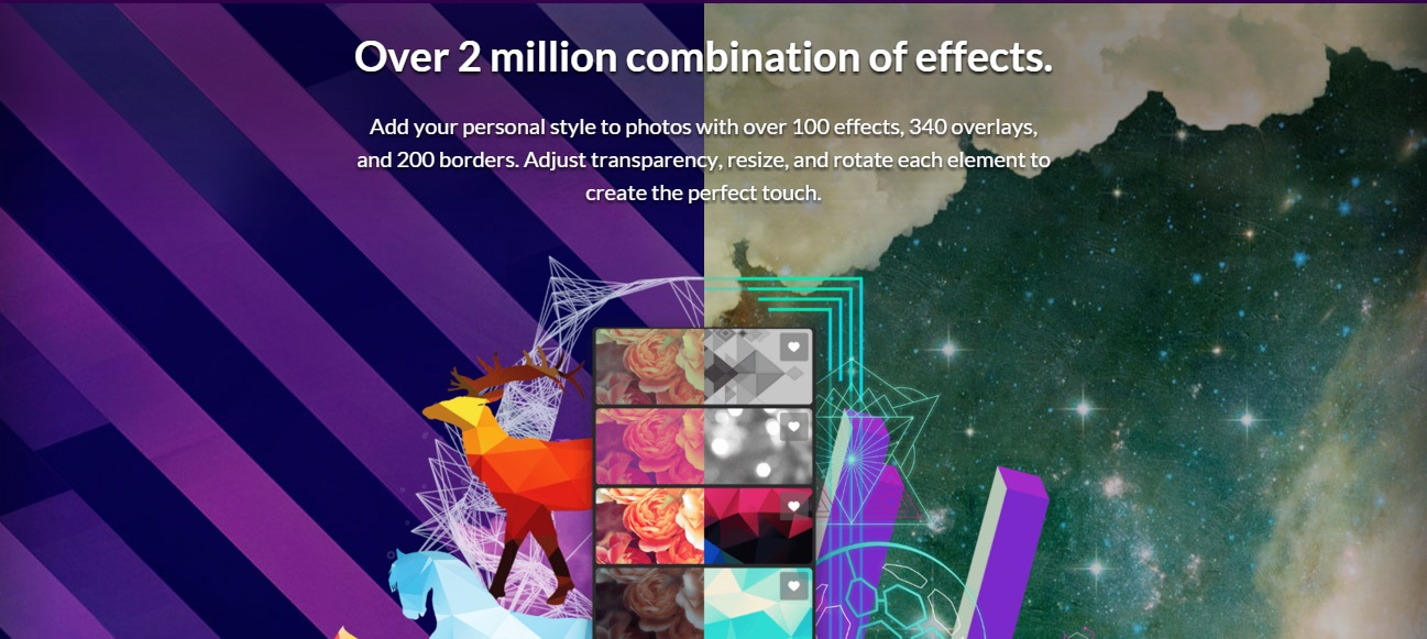 ekran zprogramu Pixlr